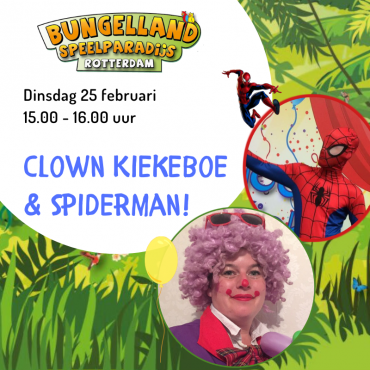 Clown Kiekeboe en een superheld!