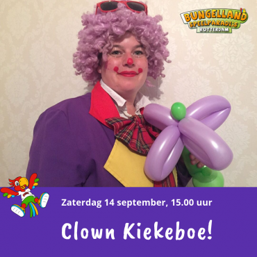 Clown Kiekeboe in Bungelland!