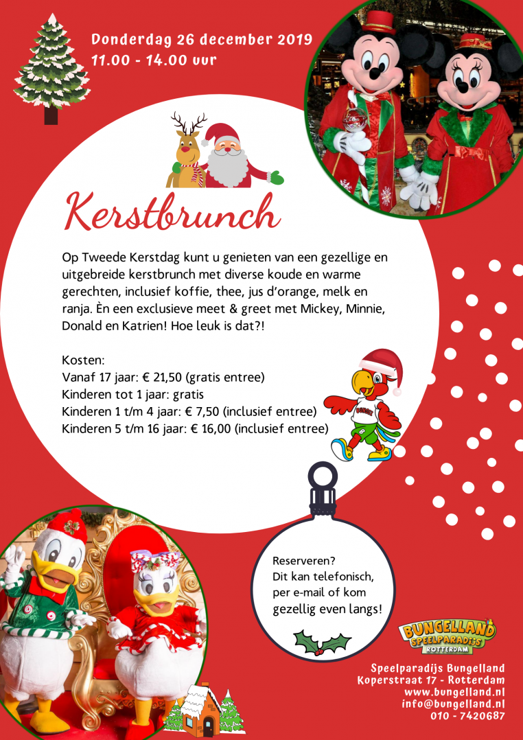 Kerstbrunch Bungelland
