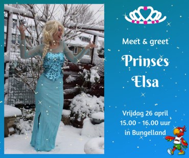 Meet & greet Prinses Elsa!