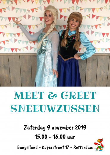 Meet & greet Sneeuwprinsessen